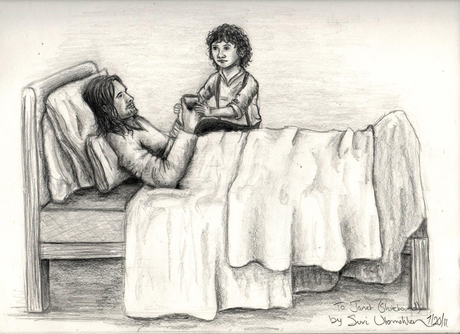 Quarantined: Aragorn and Frodo by AinuLaire on DeviantArt