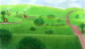 The Shire by AinuLaire