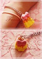 Lolita Flan bracelet by Fraise-Bonbon