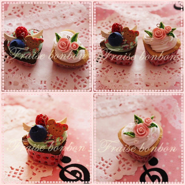 bonbon cupcakes 3 by Fraise-Bonbon