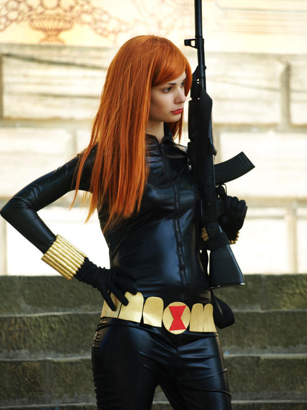 Black Widow by jun-satonaka