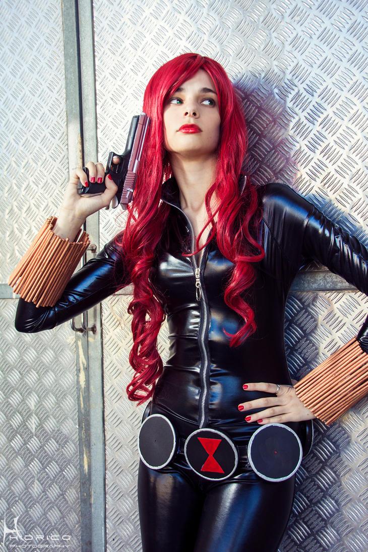 Black Widow avenger by jun-satonaka