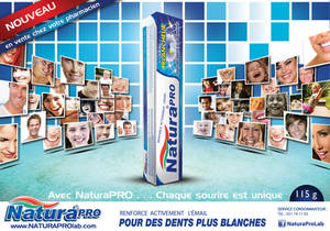 Tooth paste advert