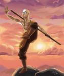 Avatar Aang by kira-meku