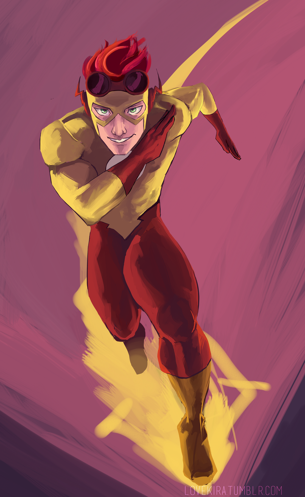 Kid Flash by sympathized