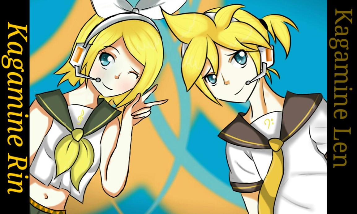 Rin y Len by yoatzin