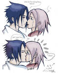 SASUSAKU kiss