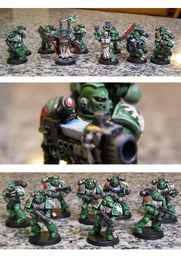 Dark Angel's tactical squad by GreyDrizzle
