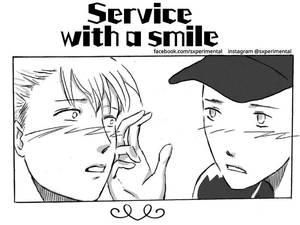 Service With A Smile(mini manga)