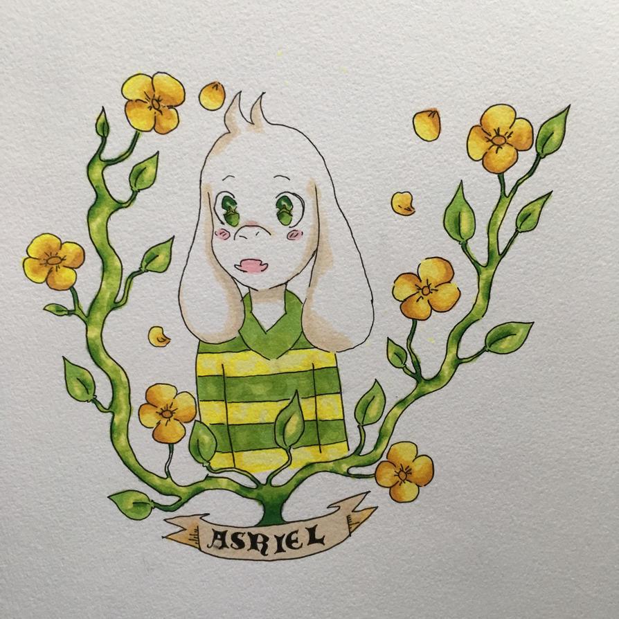 Asriel by Kandiser