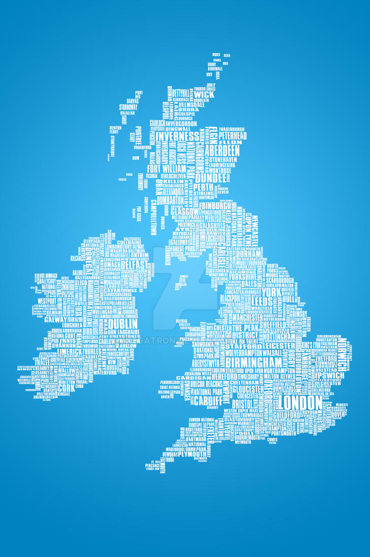 British Isles is the Word by Gregatron