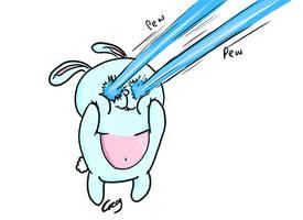 Laser Attack Bunny