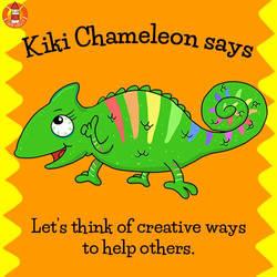 Kiki Chameleon says...