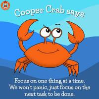 Cooper Crab helps...