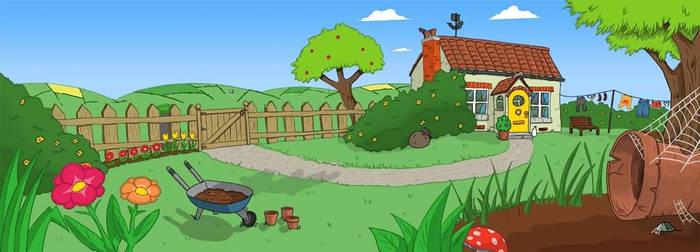 Sadie Spider's garden