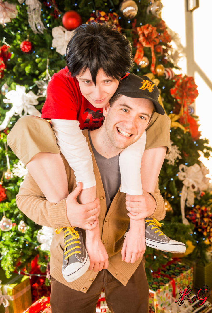 Merry Christmas from the Hamada Brothers! by residentexorcist