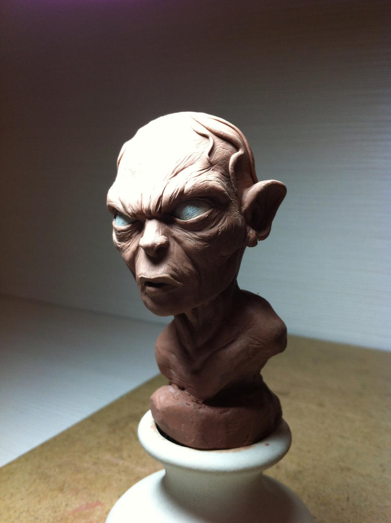 sketch-sculpt\Gollum Smeagol\ by 111max222