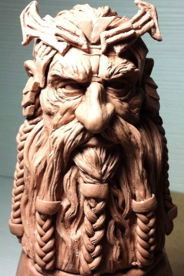 sketch-sculpt(Thror) by 111max222