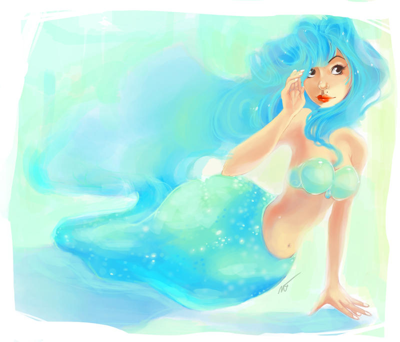 Fat bottom mermaid by Tigermint on DeviantArt