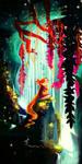 Hidden watefall by Tigermint