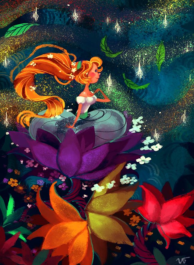 Thumbelina by Sakurabe