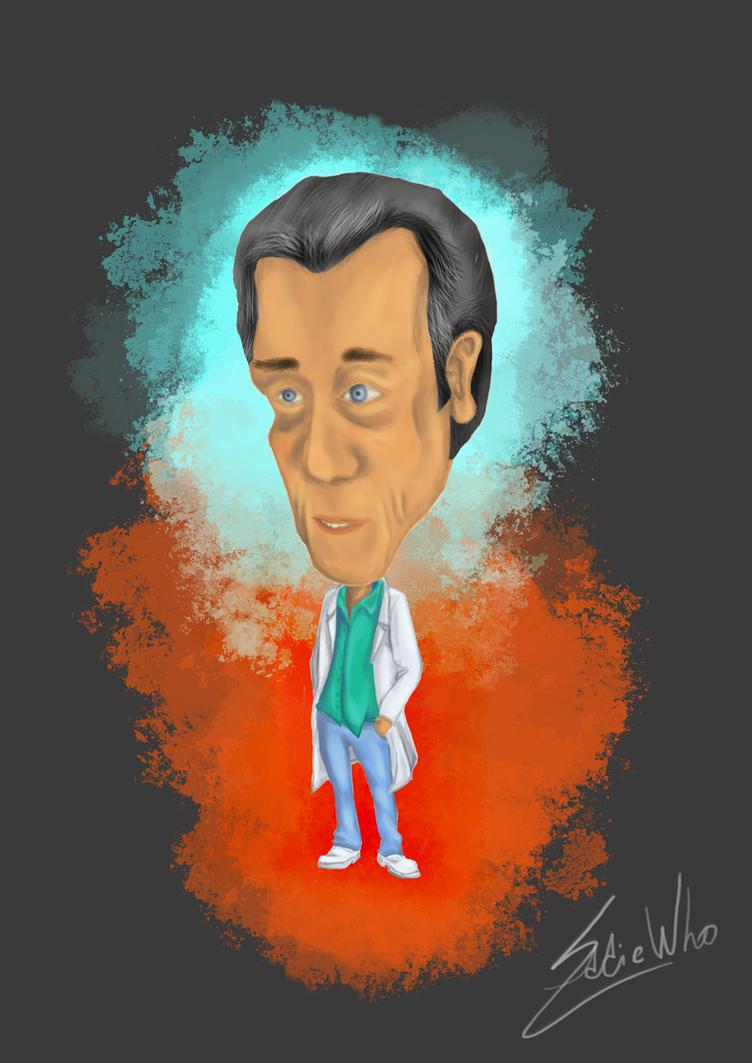 Doctor's caricature by SkullsAndBrains