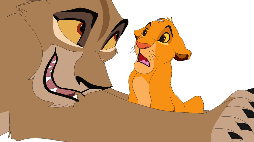 lion king base open eyes by