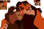 Lion King ''To be gay! have a nice day!'' base