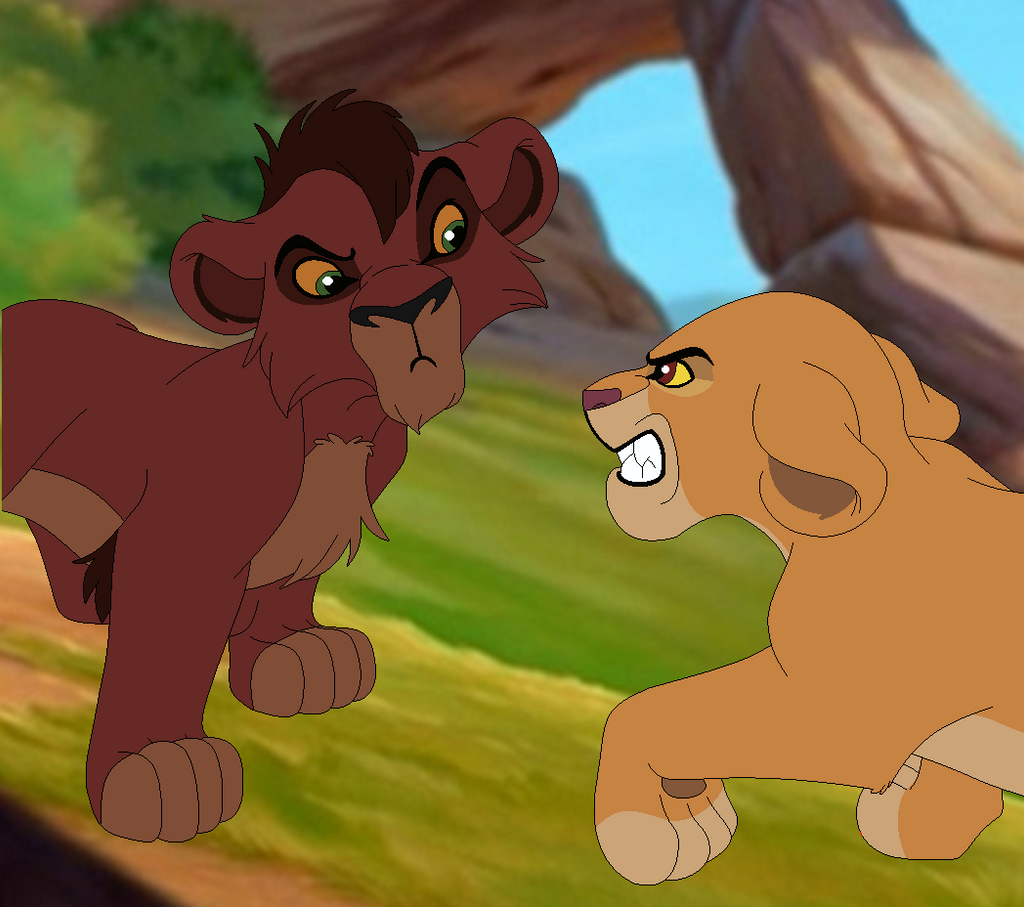 Lion King ''What Are You Lookin At?'' Base With BG By