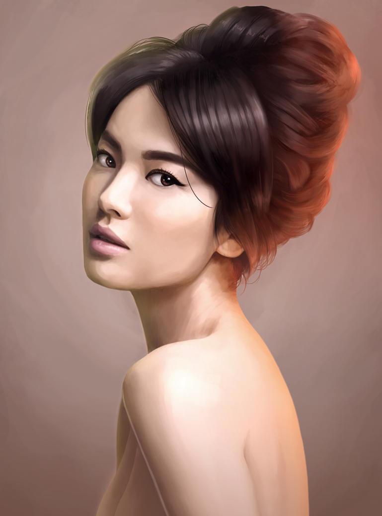 Song Hye Kyo By Gidge1201 On DeviantArt
