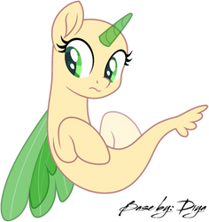 Little mermaid pony