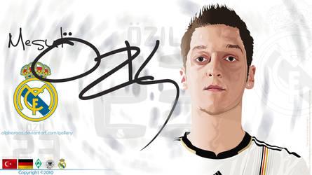 Mesut Ozil by alpkaraca