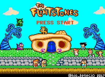 The Flintstones 8bits Tribute by Teciozzz