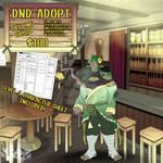 DnD Character Adopt- Tiefling Druid
