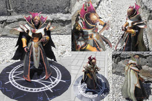 Garral, the invoker - papercraft by MorellAgrysis