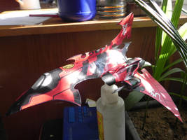 Saim-hann Hemlock wraithfighter - papercraft by MorellAgrysis