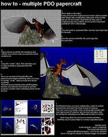 Tutorial - multiple PDO papercraft by MorellAgrysis