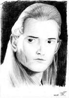 Legolas - portrait by MorellAgrysis