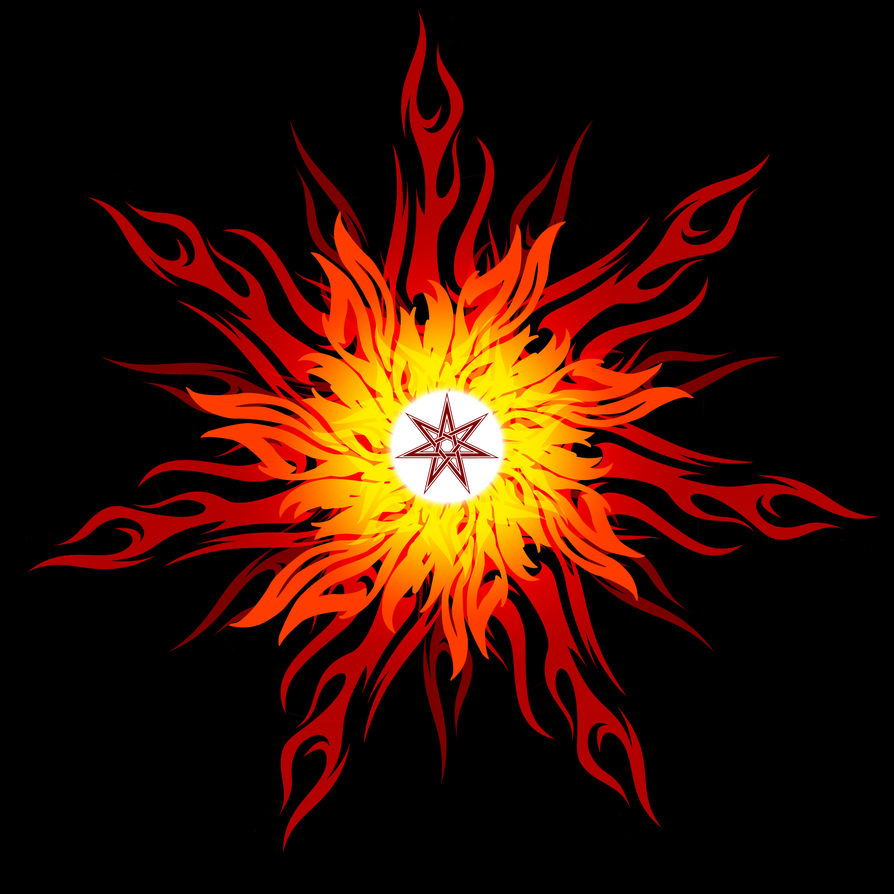 Flame Imperishable Mandala By MorellAgrysis On DeviantArt
