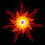Flame imperishable mandala by MorellAgrysis