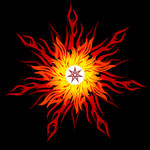 Flame imperishable mandala