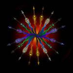 Flamesword Madnes Mandala by MorellAgrysis