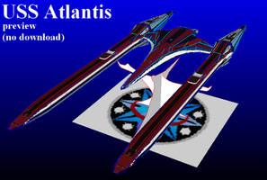 USS Atlantis preview by MorellAgrysis