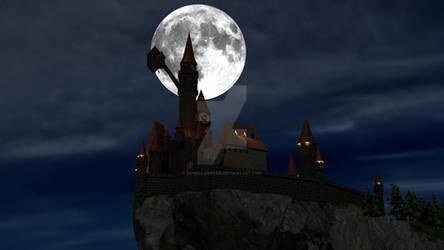 Dracula's castle Wallpaper ver.2
