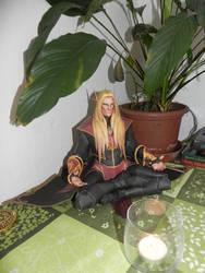 Meditating Kaelthas - build