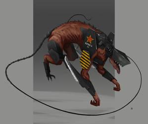 Rata Mutante by Marcilustra