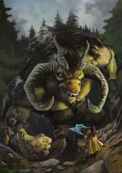 Criatura by Marcilustra