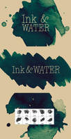 INK and Water brush