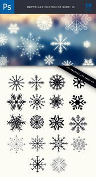 Snowflakes 23000 px HD