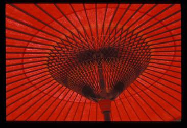 red umbrella by thrdkulchur
